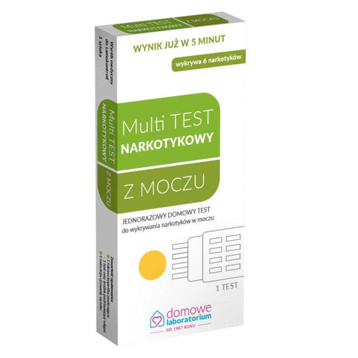 Multi TEST narkotykowy z moczu