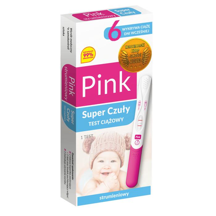 Pink Strumieniowy Super Czuły